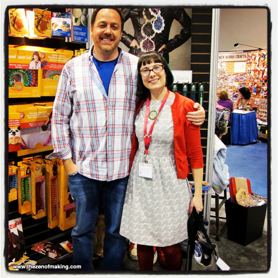 Sharing the Crafty Love at CHA Winter 2013 | The Zen of Making