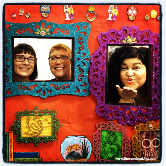 Sharing the Crafty Love at CHA Winter 2013 | Red-Handled Scissors