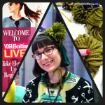 Sunday Snapshot: Hello from VOGUEknitting LIVE New York! | Red-Handled Scissors