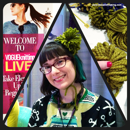 Sunday Snapshot: Hello from VOGUEknitting LIVE New York! | Red-Handled Scissors