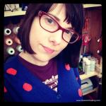 New Glasses for CHA! | Red-Handled Scissors
