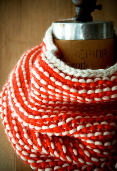 Things I Made from the Internet: Garter Gaiter | Red-Handled Scissors