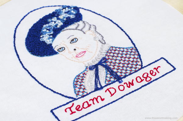 dowager countess embroidery