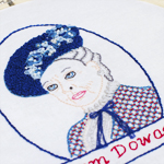 Dowager Countess Embroidery Pattern