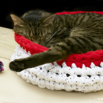 Tutorial: Super Bulky Crocheted Cat Bed | The Zen of Making