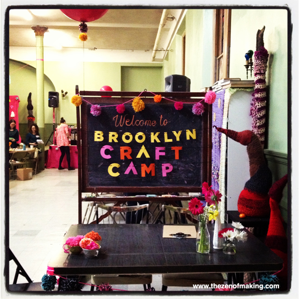 Sunday Snapshot: Brooklyn Craft Camp | Red-Handled Scissors