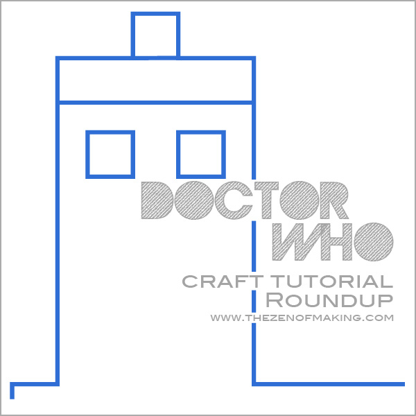 doctor who craft tutorial