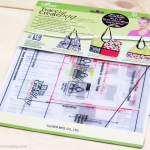Review: Nancy's Hobo Tote Collection Trace 'n Create Bag Templates from Clover USA | Red-Handled Scissors