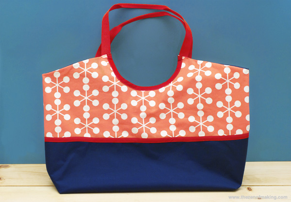 Review: Nancy's Hobo Tote Collection Trace 'n Create Bag Templates from Clover USA | The Zen of Making
