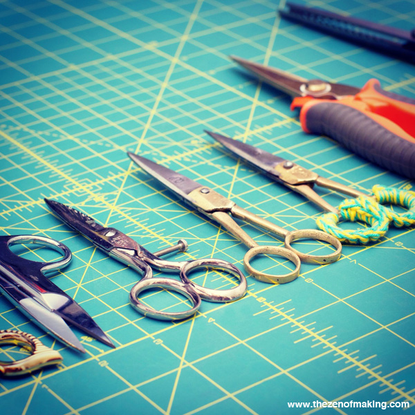 Sunday Snapshot: All of the Scissors | Red-Handled Scissors