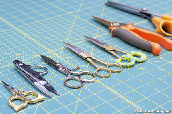 Sunday Snapshot: All of the Scissors | The Zen of Making