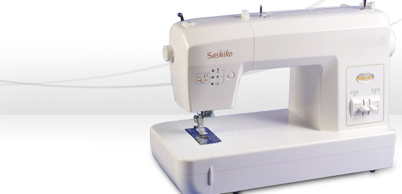 Friday Internet Crushes: Sashiko Embroidery Sewing Machine from Baby Lock | Red-Handled Scissors