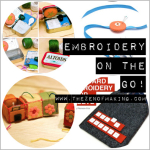 Friday Internet Crushes: Embroidery on the Go | The Zen of Making