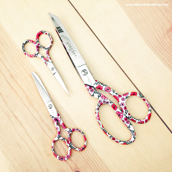 Friday Internet Crushes: Gingher Designer Series Scissors | Red-Handled Scissors
