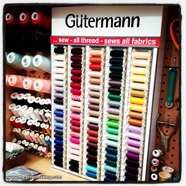 Organize: Gütermann In-Home Thread Cabinet   Red-Handled Scissors