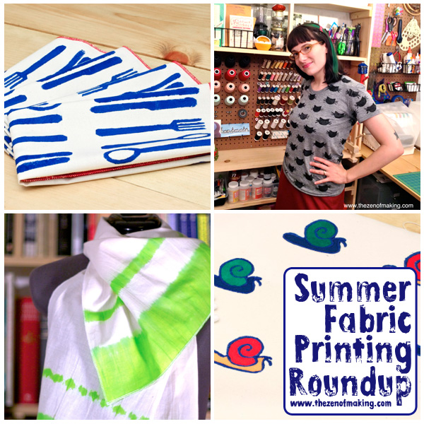 Friday Internet Crushes: Summer Fabric Printing Roundup | The Zen of Making