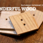 Saturday Internet Crushes: Wonderful Wood | Red-Handled Scissors