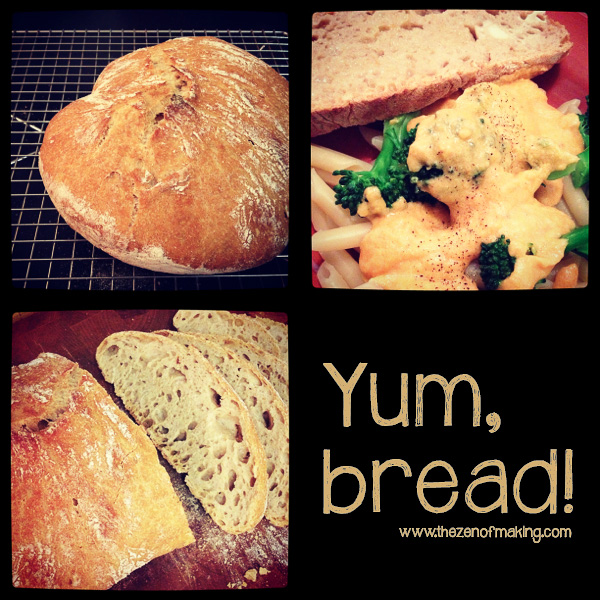 Things I Made from the Internet: No-Knead Bread | The Zen of Making