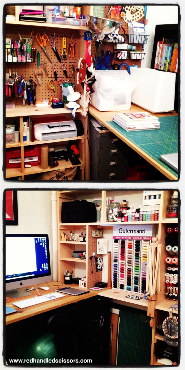 Video: 20 Second Craft Studio Tour: Big creativity happens in my teeny tiny Brooklyn workspace.