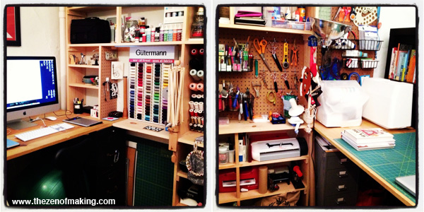 Video: 20 Second Craft Studio Tour | The Zen of Making