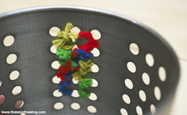 Organize: Cross Stitch Storage Canisters | Red Handled Scissors