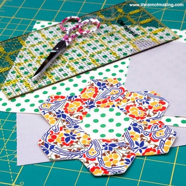 In Progress: English Paper Piecing Travel Kit | The Zen of Making