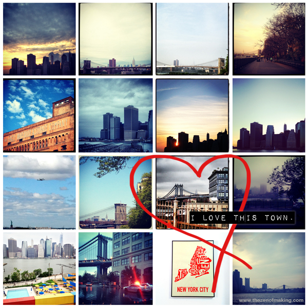 NYC: I Love This Town | Red-Handled Scissors