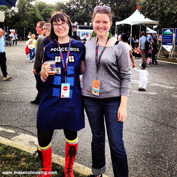 Sunday Snapshot: Getting Friendly at World Maker Faire New York | Red-Handled Scissors