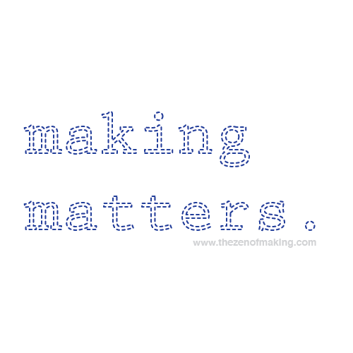 Ladies: It Matters How We Talk About Crafting | The Zen of Making