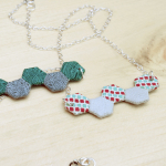 Tutorial: Mini Hexie Necklace | The Zen of Making
