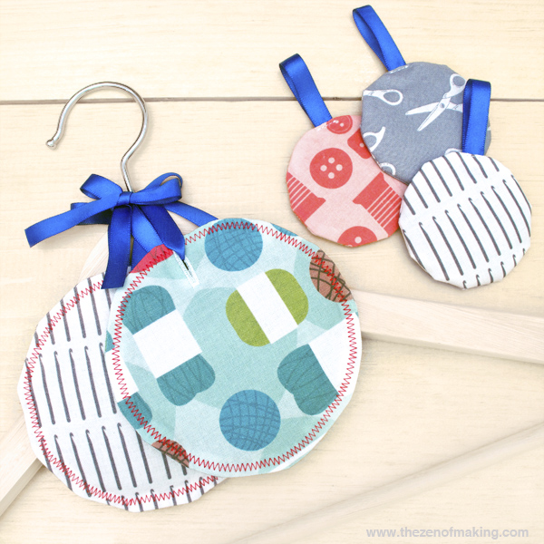 Tutorial: Simple Lavender Sachets with the AccuQuilt GO! Baby | Red-Handled Scissors