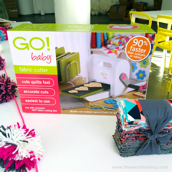 Review: AccuQuilt GO! Baby Fabric Cutter | The Zen of Making
