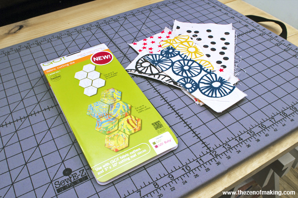 Review: AccuQuilt English Paper Piecing Hexagon Dies | Red-Handled Scissors
