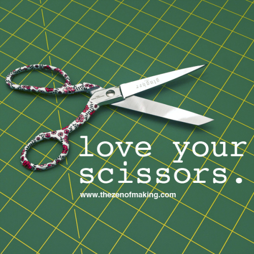 Crafting 101: How to Clean and Oil Your Scissors | The Zen of Making