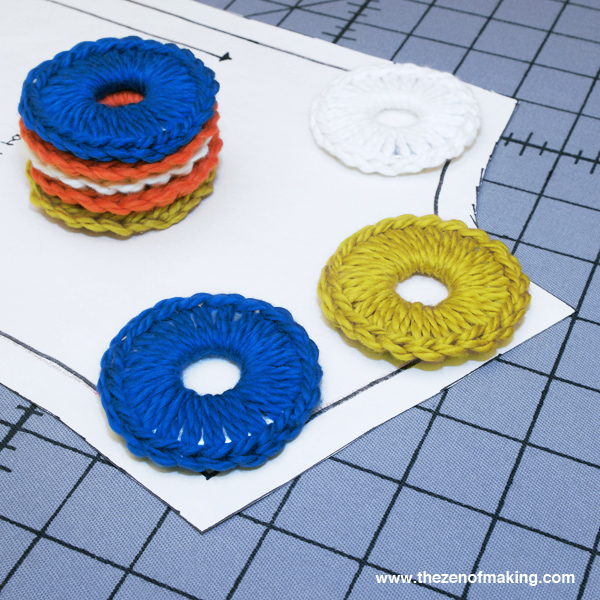 Video Tutorial: Crocheted Metal Washer Pattern Weights | The Zen of Making