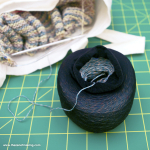 Craft Tip: Keep Balls of Yarn Tidy with a Pair of Old Tights | Red-Handled Scissors