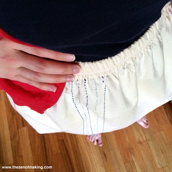 Sunday Snapshot: Perfect Summer Skirts | The Zen of Making