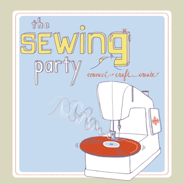 The Sewing Party + A Giveaway | Red-Handled Scissors