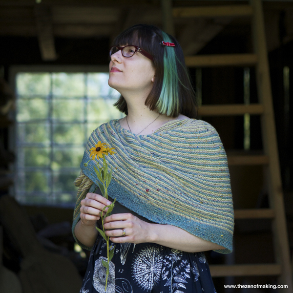 Knitting Pattern Review: Color Affection Shawl | The Zen of Making