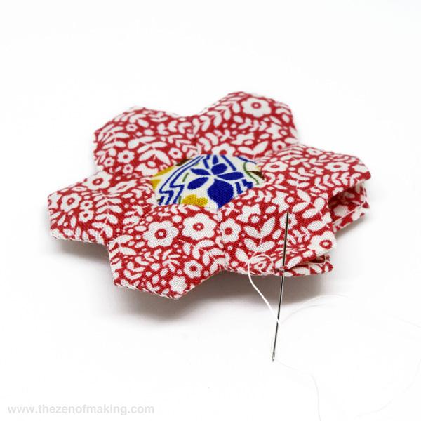 Tutorial: Pincushion for English Paper Piecing Travel Kit   The Zen of Making