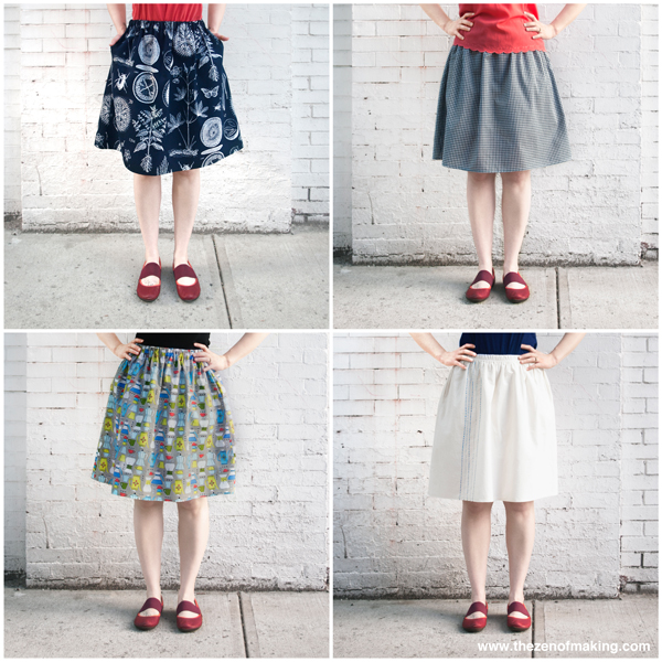 Tutorial Update: Plus Size Fit Guide for the Perfect Summer Skirt! | The Zen of Making
