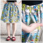 Tutorial Update: Plus Size Fit Guide for the Perfect Summer Skirt! | Red-Handled Scissors