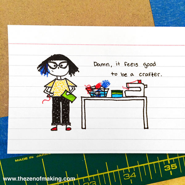 Sunday Snapshot: Tiny Cranky Haley, Week 3 | The Zen of Making