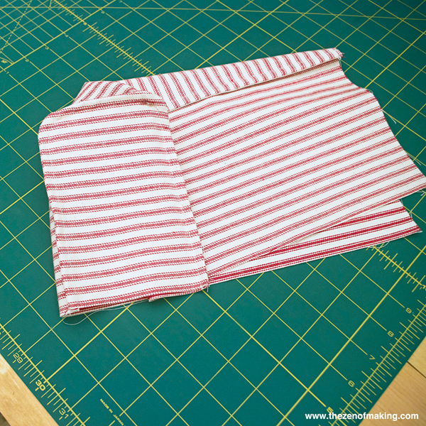 Tutorial: Simple Fabric Armrest Covers | Red Handled Scissors