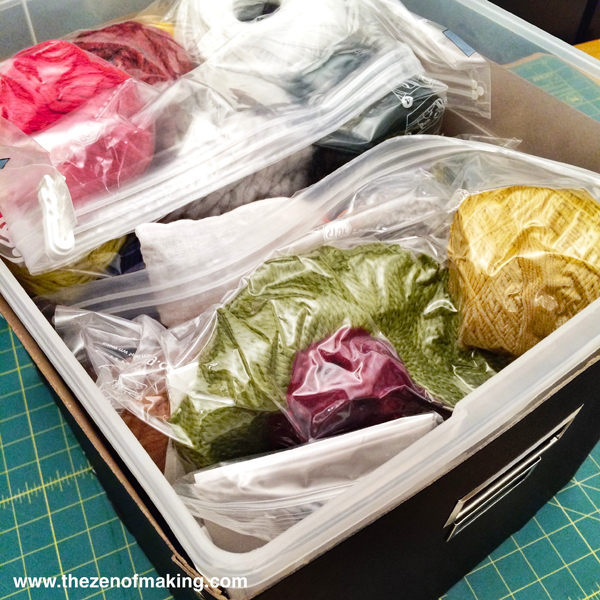 Clothes Moths: How to Save Your Yarn Stash, Fabric, Wardrobe, and Sanity During an Infestation | The Zen of Making