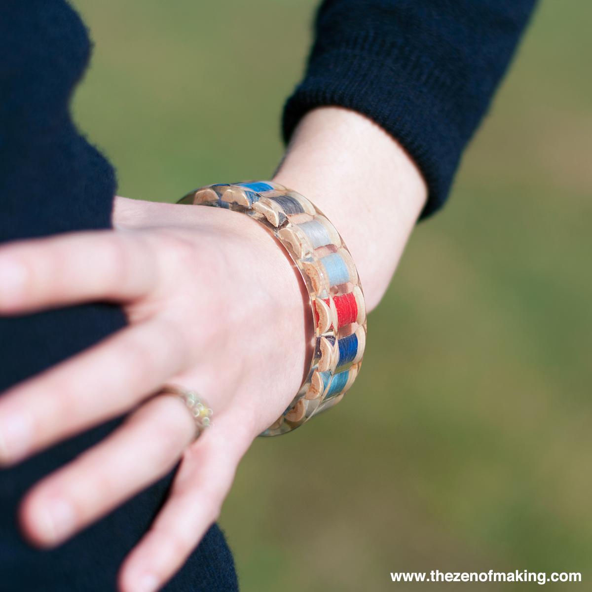 Tutorial: Resin Thread Spool Bracelet | The Zen of Making