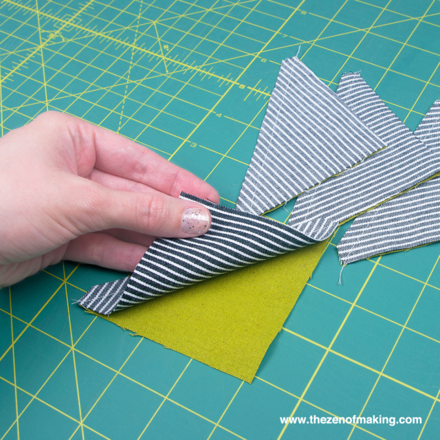 Last-Minute Gift Idea: Half Square Triangle Hand Warmers | Red-Handled Scissors