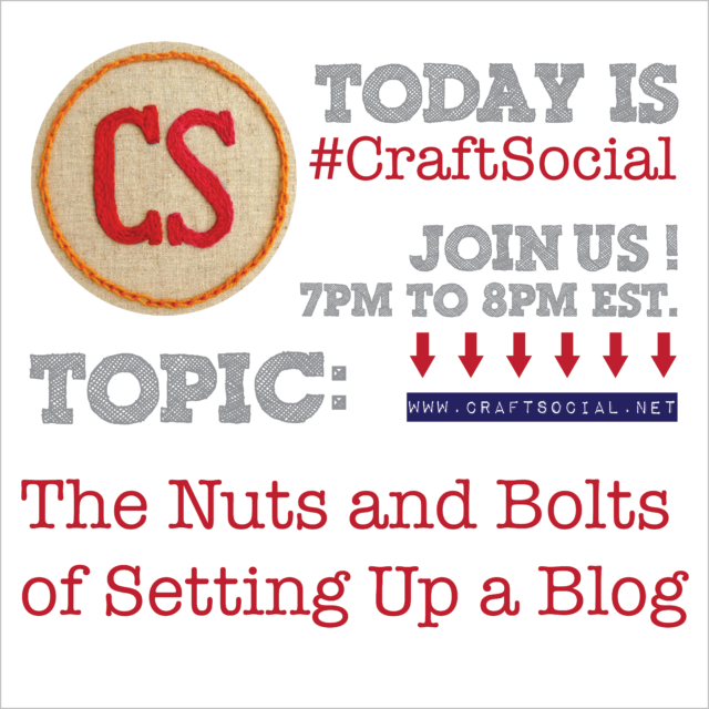 Today's Craft Social: The Nuts and Bolts of Setting Up a Blog | The Zen of Making