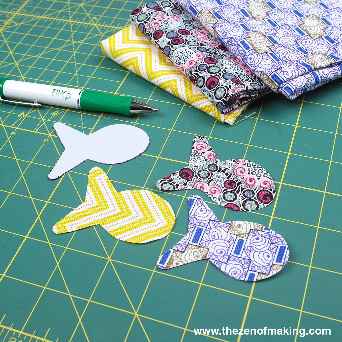 Tutorial Goldfish Bowl Poodle Skirt With Accuquilt Go Big