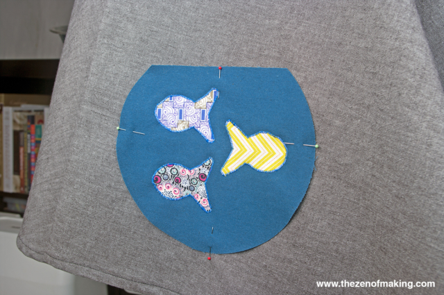 Tutorial: Goldfish Bowl Poodle Skirt with AccuQuilt GO! Big   The Zen of Making